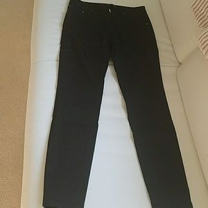 New ladies black jeans by Zara made in England